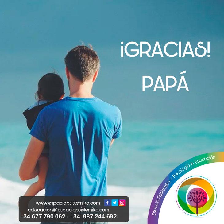 ¿Gracias Papá!